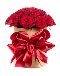 Red Rose Gift Box. Krasnodar